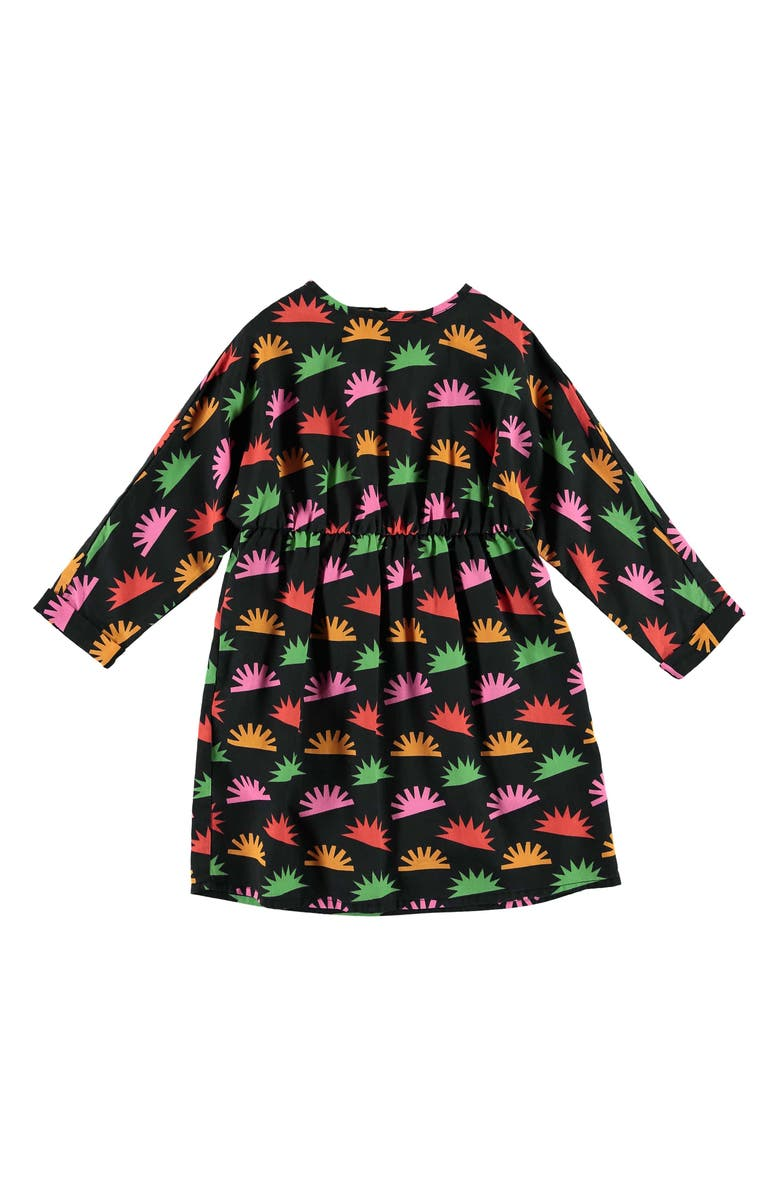 STELLA MCCARTNEY KIDS Hedgehog Dress, Main, color, BLACK MULTI