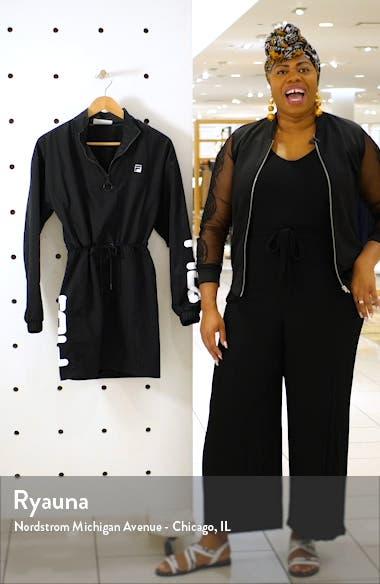 Bijou Long Sleeve Windbreaker Minidress, sales video thumbnail