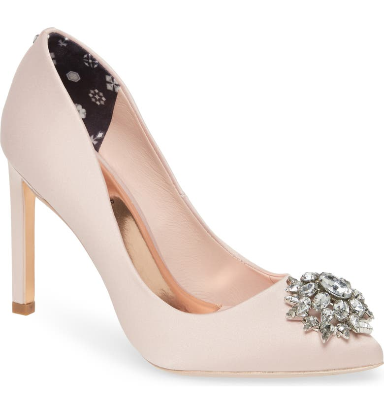 TED BAKER LONDON Brydien Pump, Main, color, PINK FABRIC