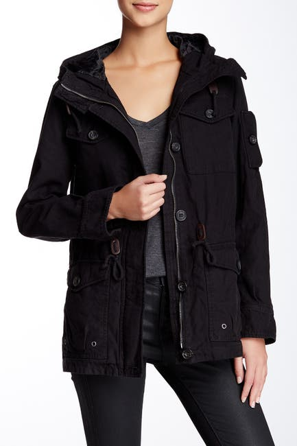 Image of Levi's Hooded Military Jacket