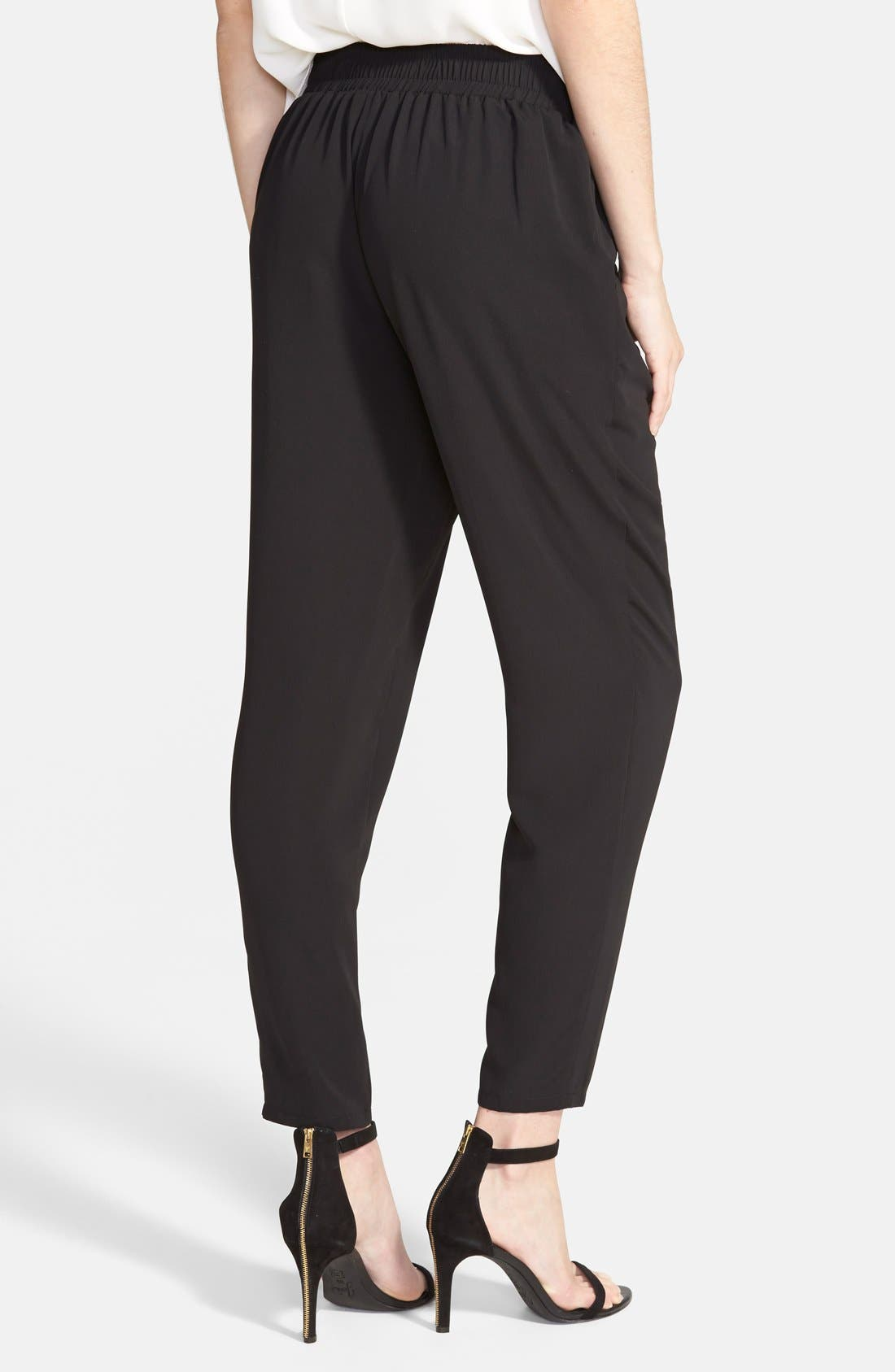 ,                             Perfect Woven Pants,                             Alternate thumbnail 3, color,                             001