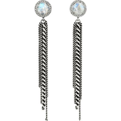Sheryl Lowe Moonstone Fringe Earrings