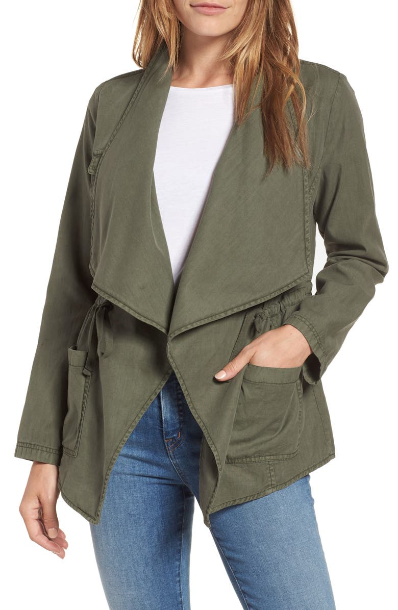 CASLON<SUP>®</SUP> Draped Utility Jacket, Main, color, 301