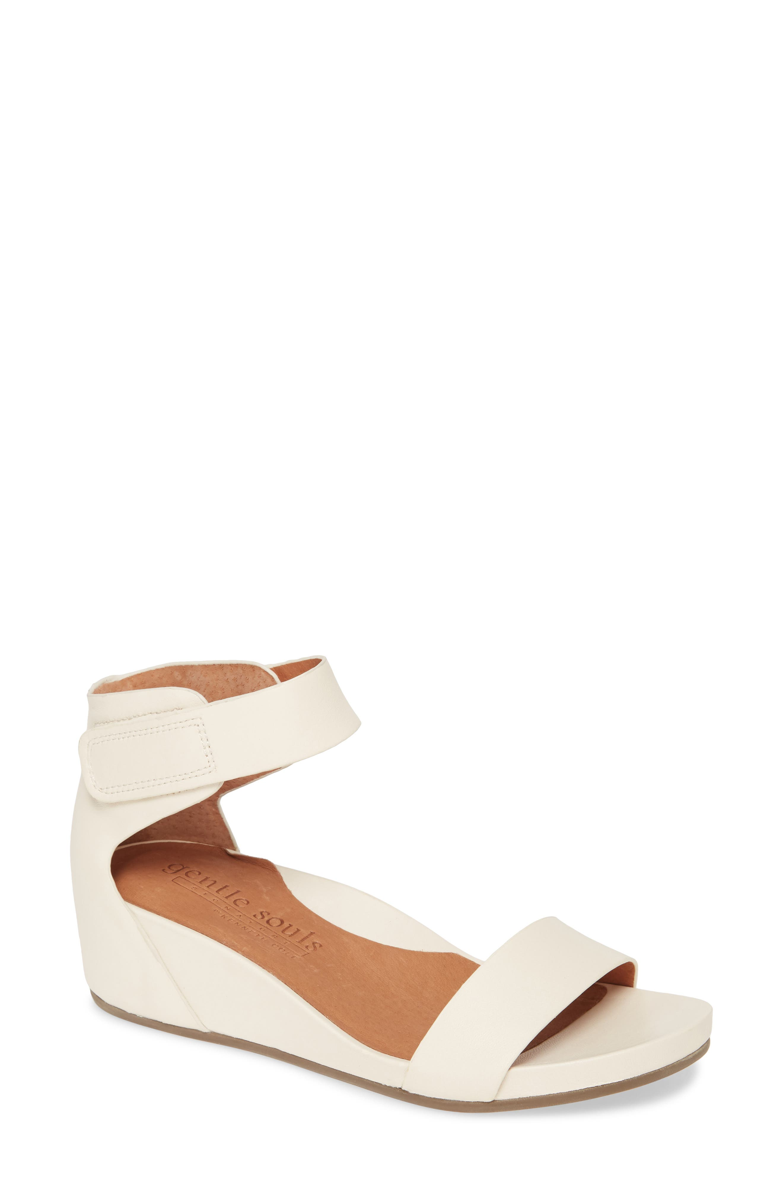 Gentle Souls Signature Gianna Wedge Sandal (Women)