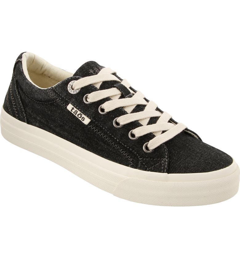 TAOS Plim Soul Sneaker, Main, color, BLACK DENIM FABRIC