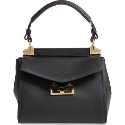 Givenchy Small Mystic Leather Satchel - Black