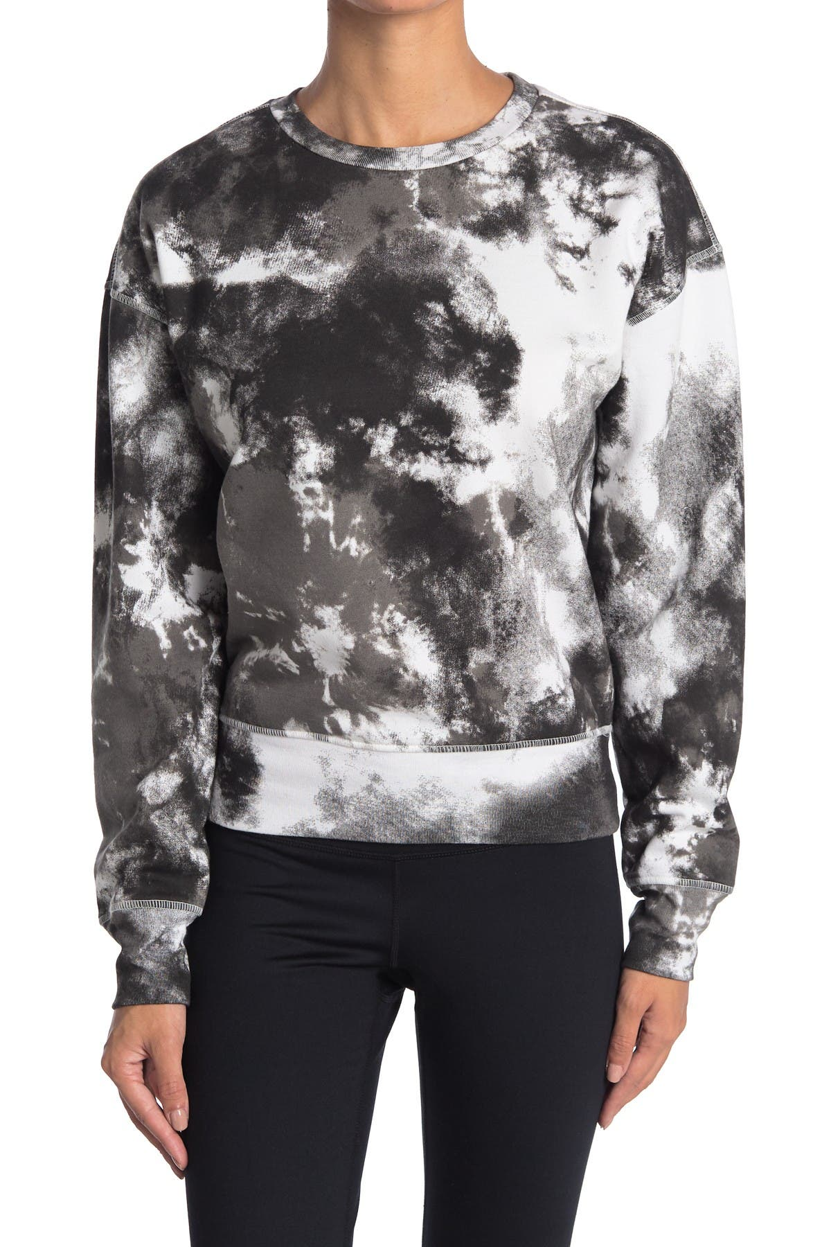 Image of Z By Zella Maisie Tie Dye Pullover Sweatshirt