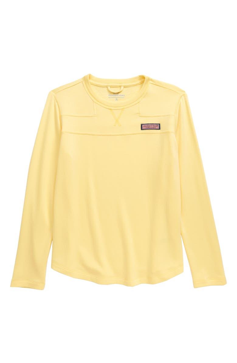 VINEYARD VINES Dreamcloth Shep Sweatshirt, Main, color, COLD LEMONADE