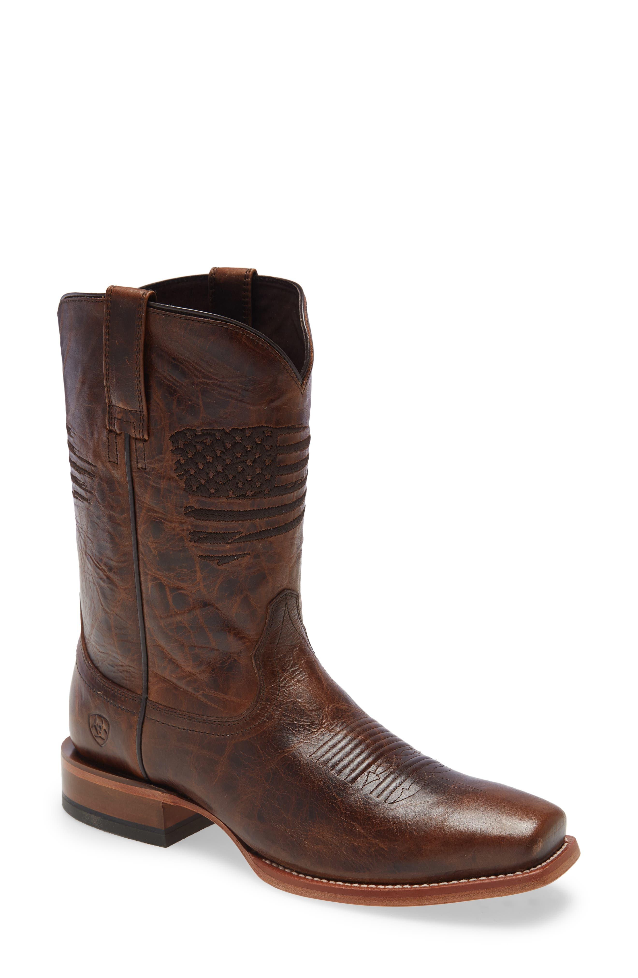 Circuit Patriot Square Toe Cowboy Boot