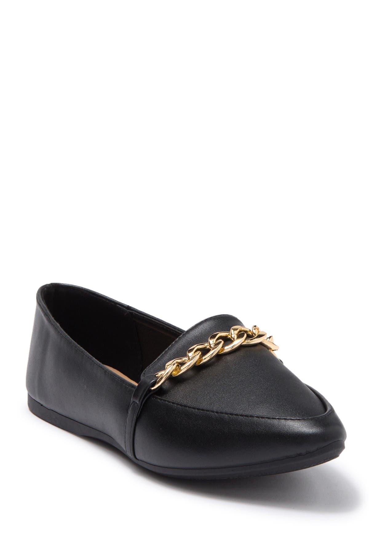 Image of Top Moda Scott Metal Bit Pointed Toe Loafer