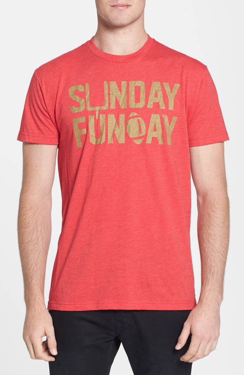 KID DANGEROUS 'Sunday Funday' Graphic T-Shirt, Main, color, 600