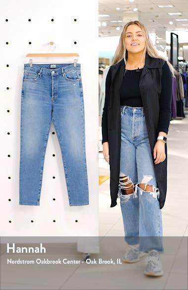 Olivia High Waist Slim Ankle Jeans, sales video thumbnail