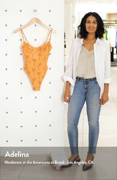 Isabella High Leg One-Piece Swimsuit, sales video thumbnail