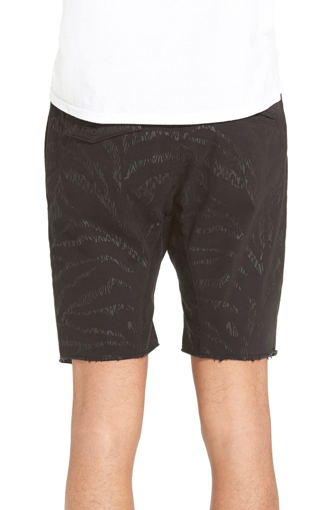 ,                             'Sureshot' Ikat Drawstring Shorts,                             Alternate thumbnail 3, color,                             001