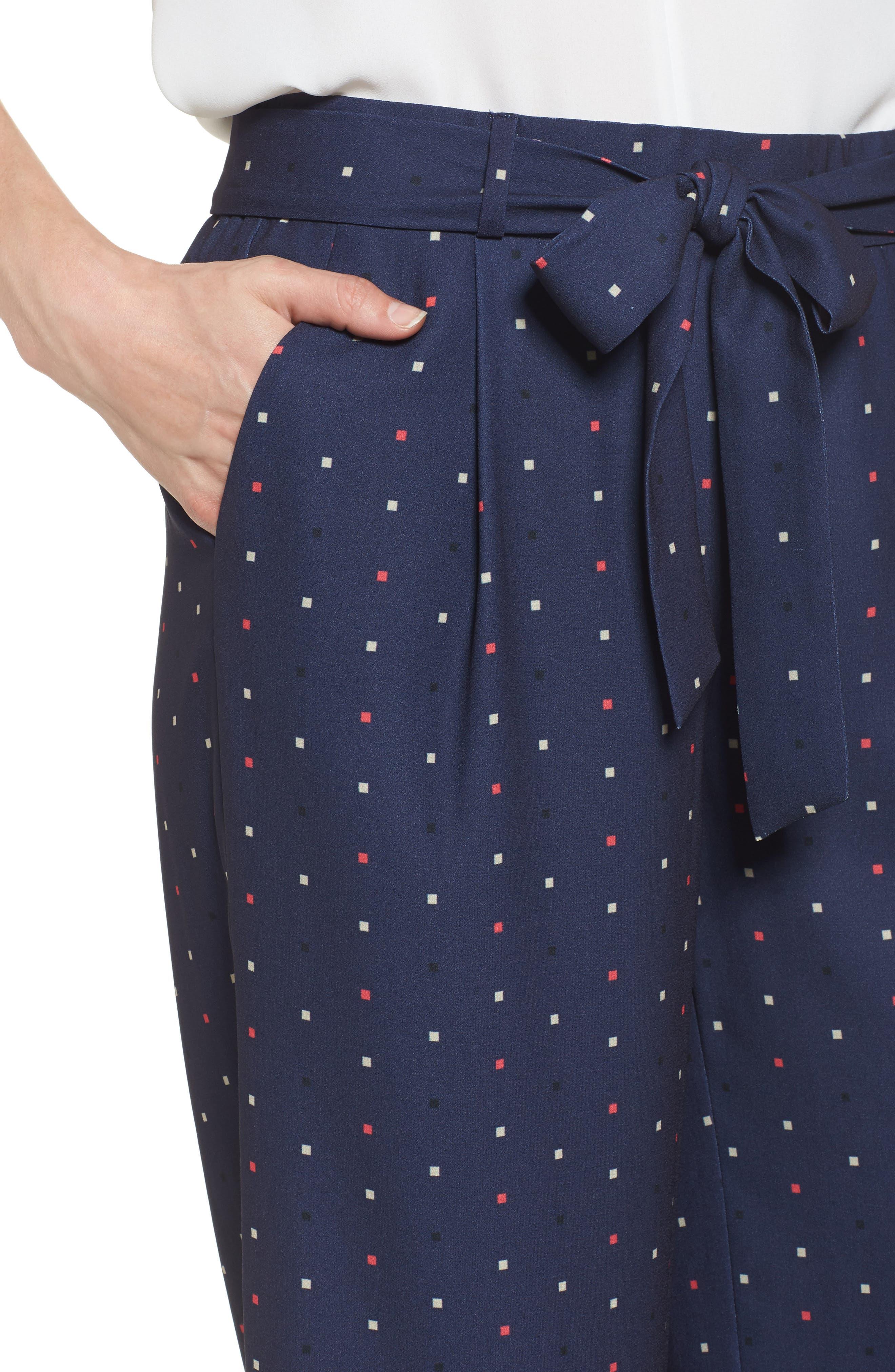 ,                             Wide Leg Crop Pants,                             Alternate thumbnail 49, color,                             410