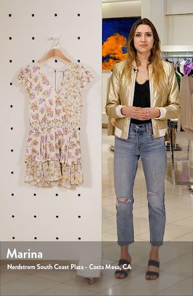 Mariska Floral Ruffle Romper, sales video thumbnail