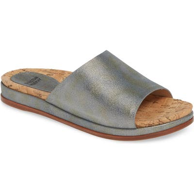 Johnston & Murphy Jenny Slide Sandal, Grey