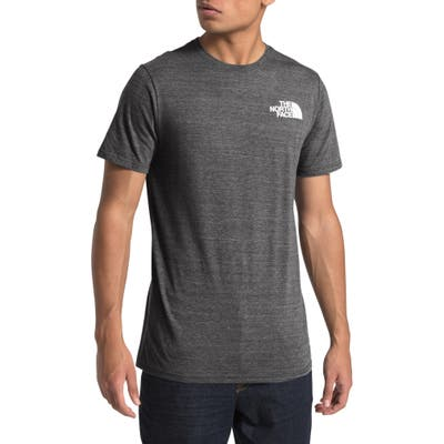 The North Face Archived Triblend Short Sleeve T-Shirt, Grey