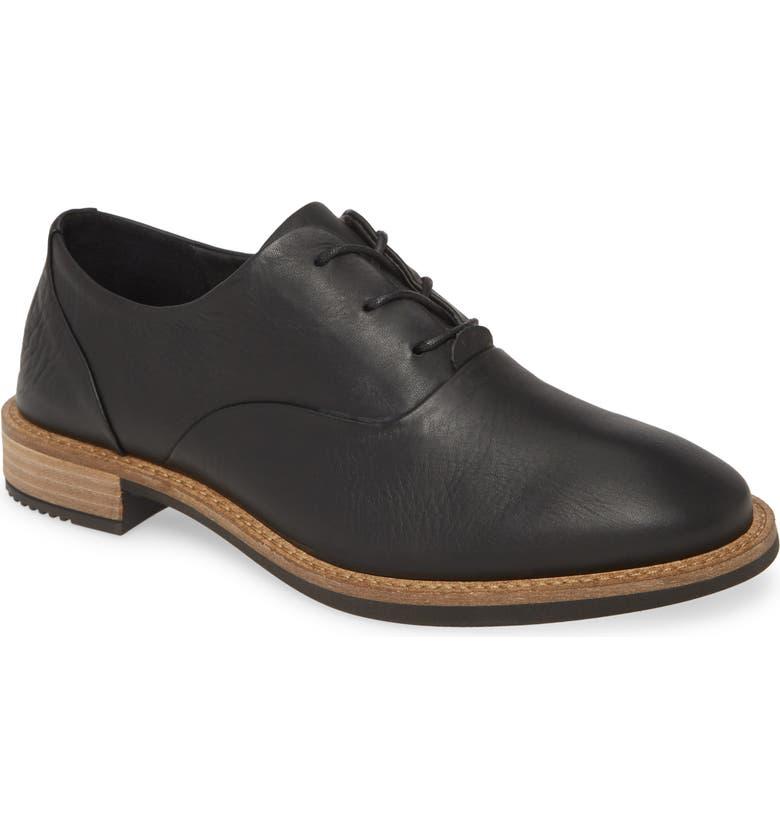 ECCO Sartorelle 25 Tailored Oxford, Main, color, BLACK LEATHER