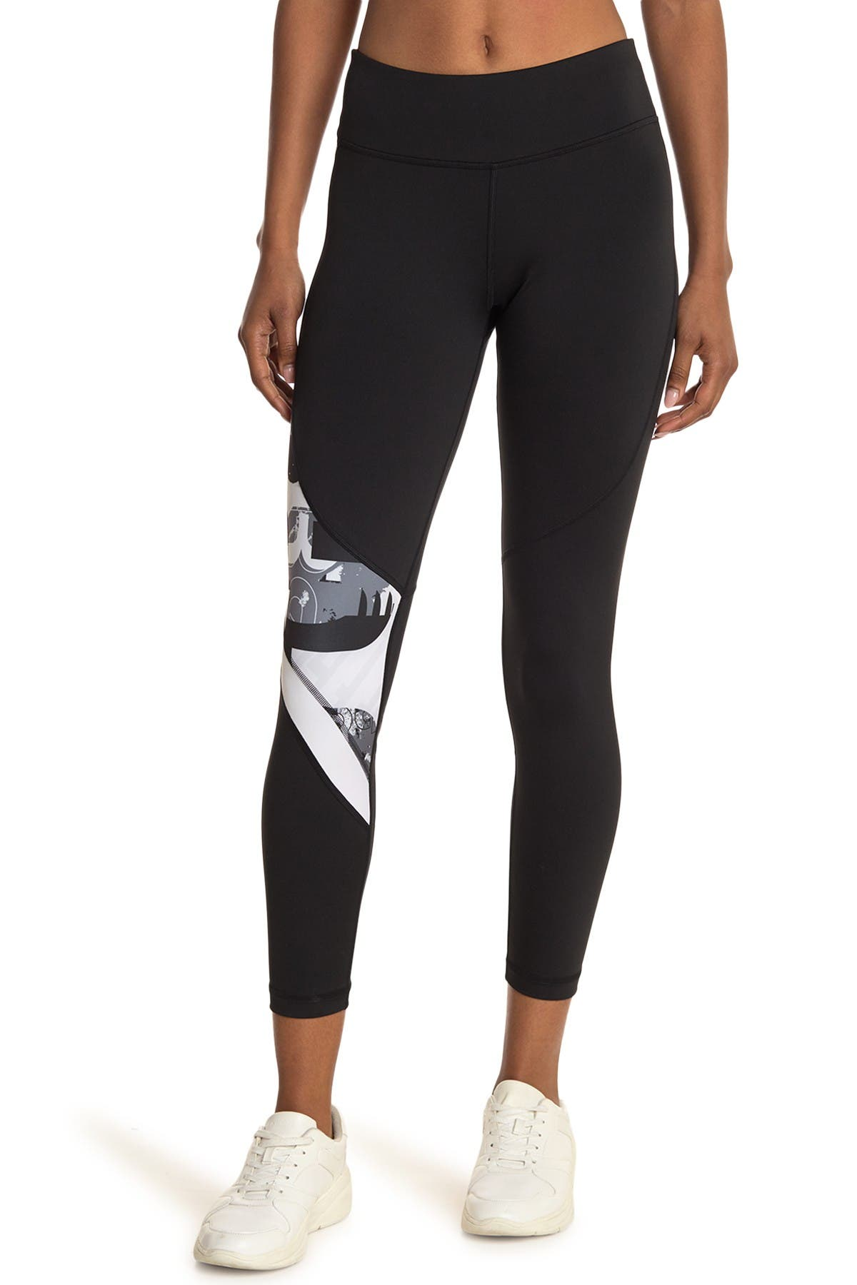 Image of Reebok Printed High Waist Leggings