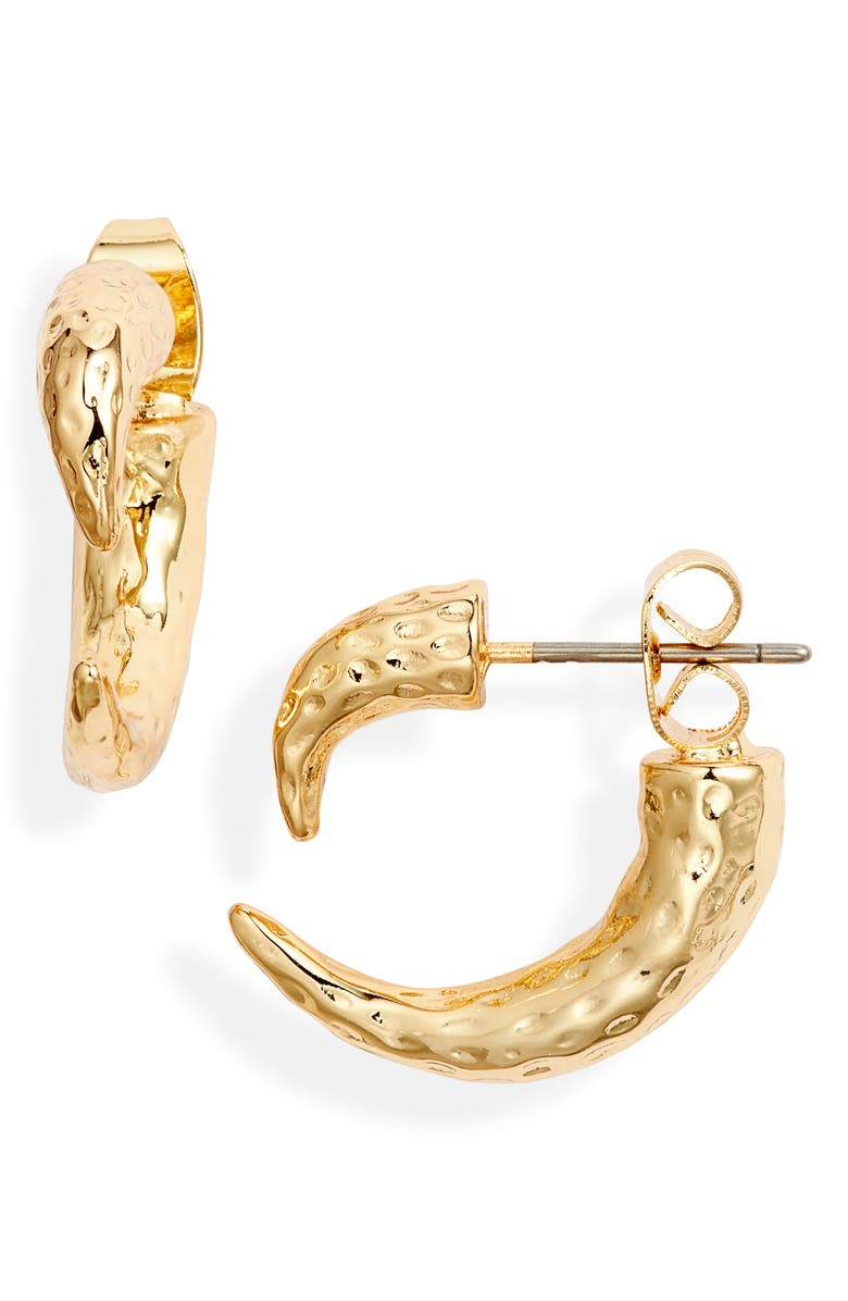 UNCOMMON JAMES BY KRISTIN CAVALLARI Stealth Drop-Back Earrings, Main, color, GOLD