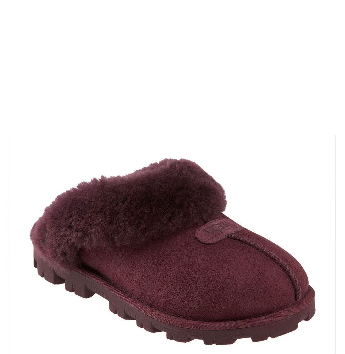 ,                             Genuine Shearling Slipper,                             Main thumbnail 130, color,                             504