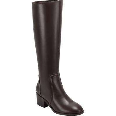 Evolve Tallie Knee High Boot- Brown
