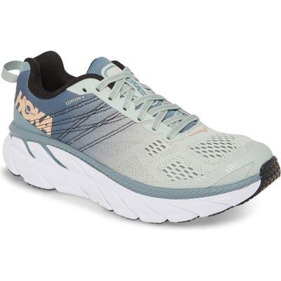 Hoka One One Clifton 6 Running Shoe, Blue
