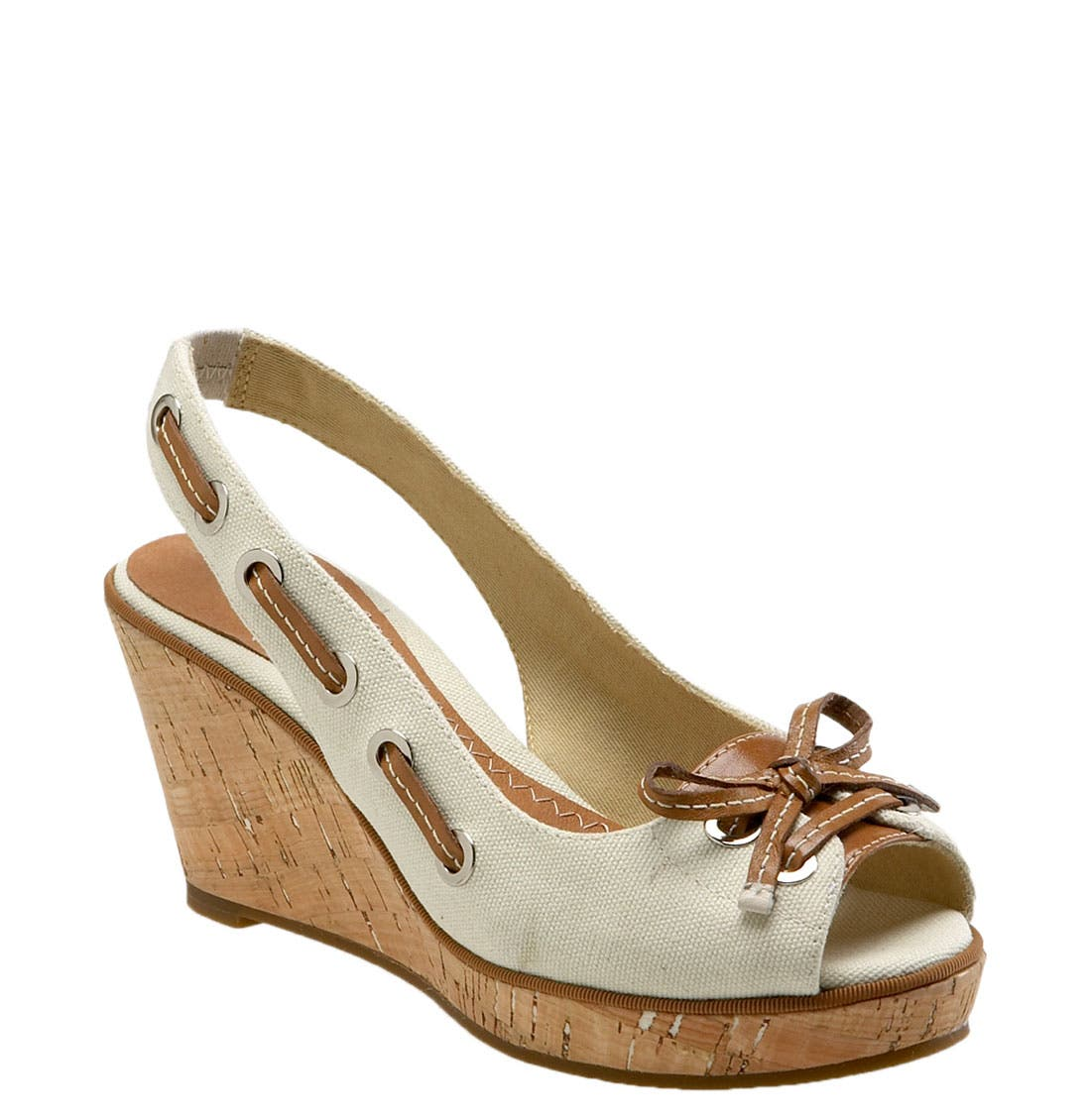 ,                             Top-Sider<sup>®</sup> 'Southport' Slingback Wedge,                             Main thumbnail 10, color,                             168