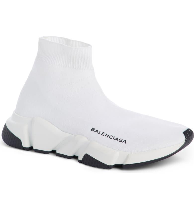 BALENCIAGA Speed Mid Sneaker, Main, color, 104