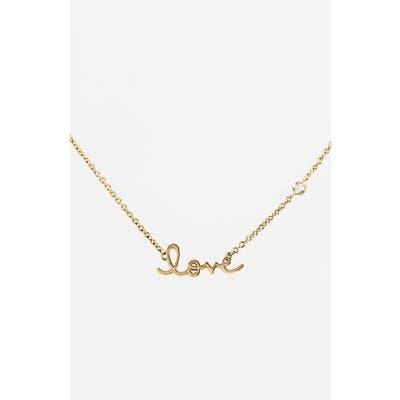 Syd By Sydney Evan Love Necklace