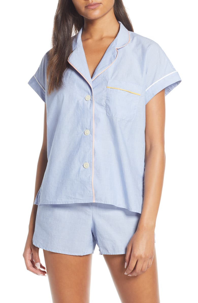 MADEWELL Bedtime Short Pajamas, Main, color, 400