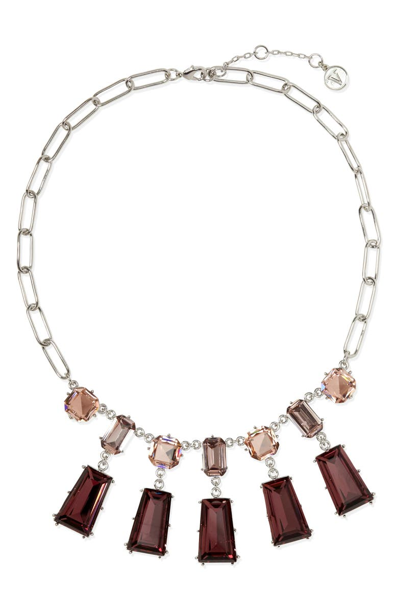 VINCE CAMUTO Frontal Collar Necklace, Main, color, 040