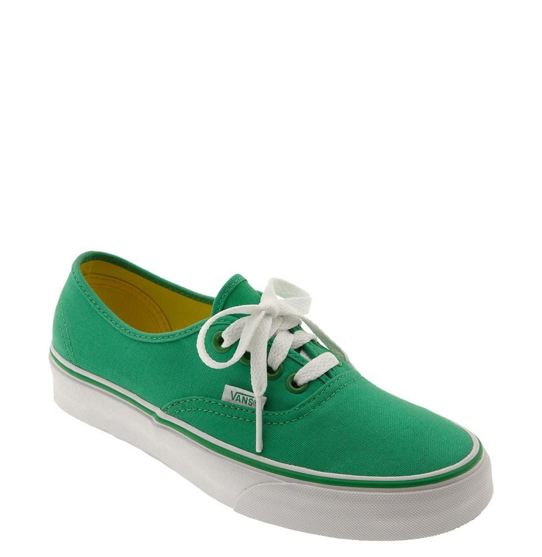 ,                             'Authentic' Sneaker,                             Main thumbnail 587, color,                             303