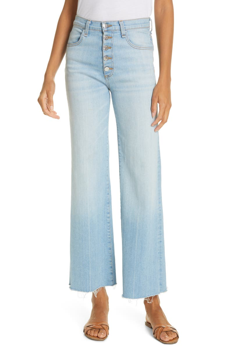 VERONICA BEARD Kirra Flare Jeans, Main, color, AIRE