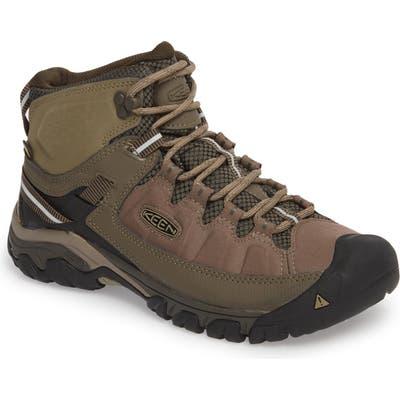 Keen Targhee Exp Mid Waterproof Hiking Boot, Brown