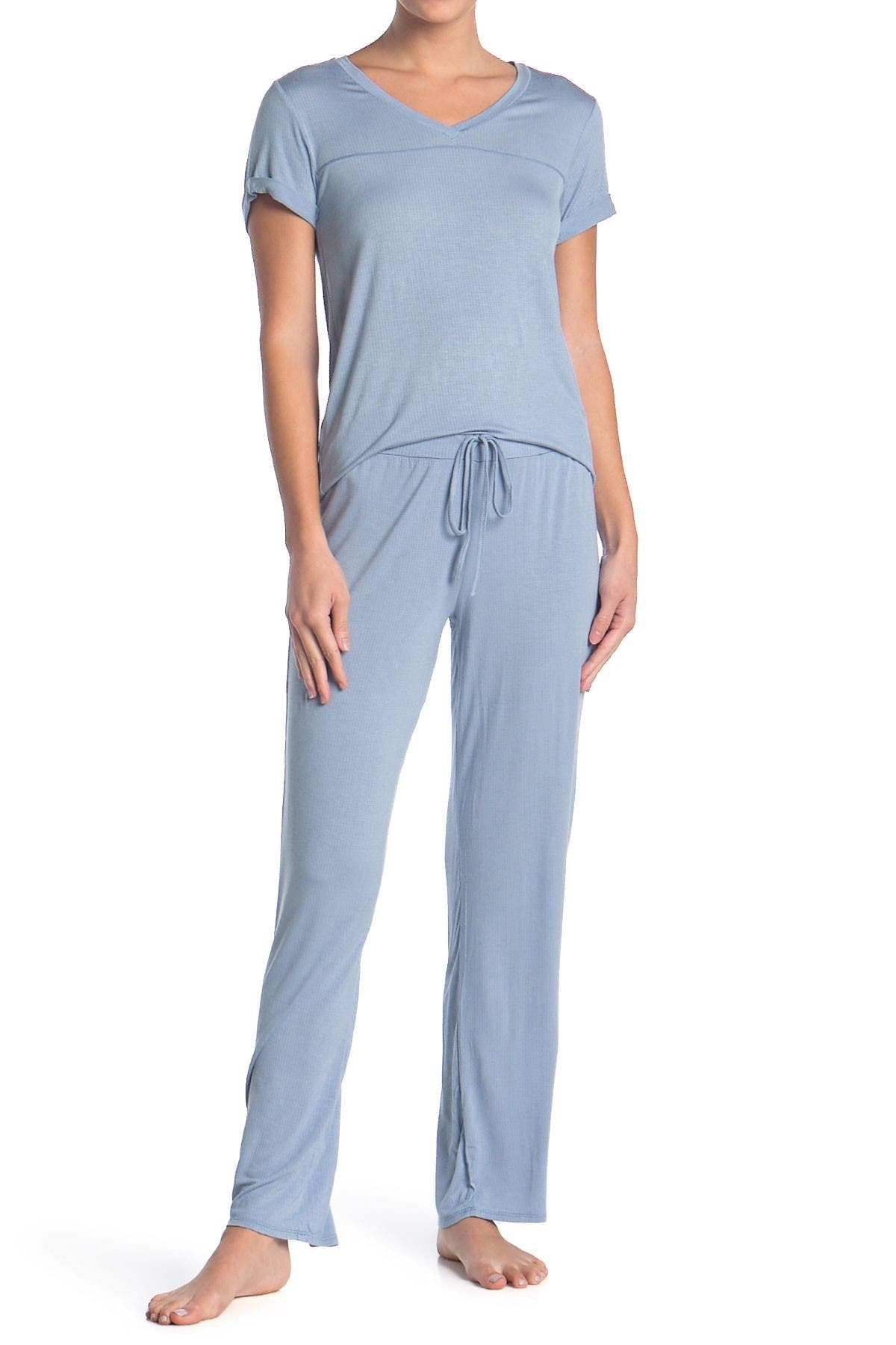 Image of Lucky Brand T-Shirt & Pants Pajama 2-Piece Set