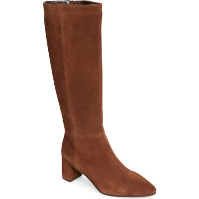 Aquatalia Karen Weatherproof Tall Boot, Brown
