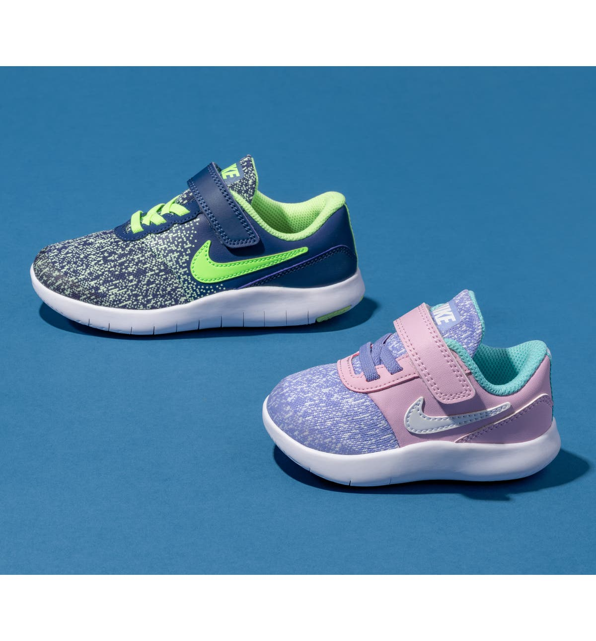 ede8da4437 Nike Flex Contact Running Shoe (Baby, Walker, Toddler & Little Kid) |  Nordstrom