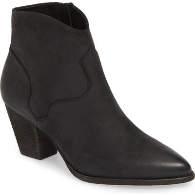 Frye Reed Pointy Toe Bootie- Black