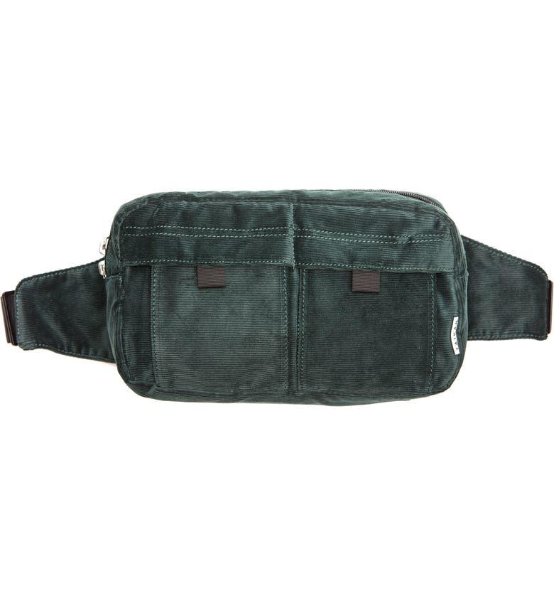 TAIKAN Spectre Corduroy Hip Pack, Main, color, FOREST CORDUROY