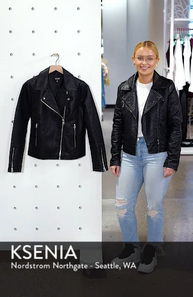 Rosa Biker Jacket, sales video thumbnail