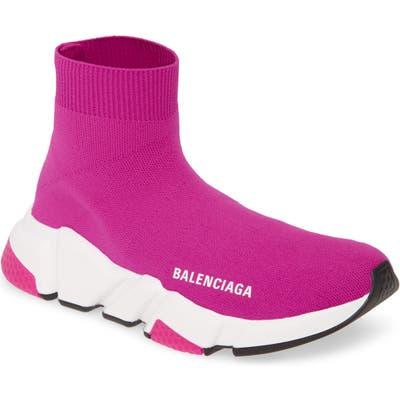 Balenciaga Speed Knit Sneaker, Pink