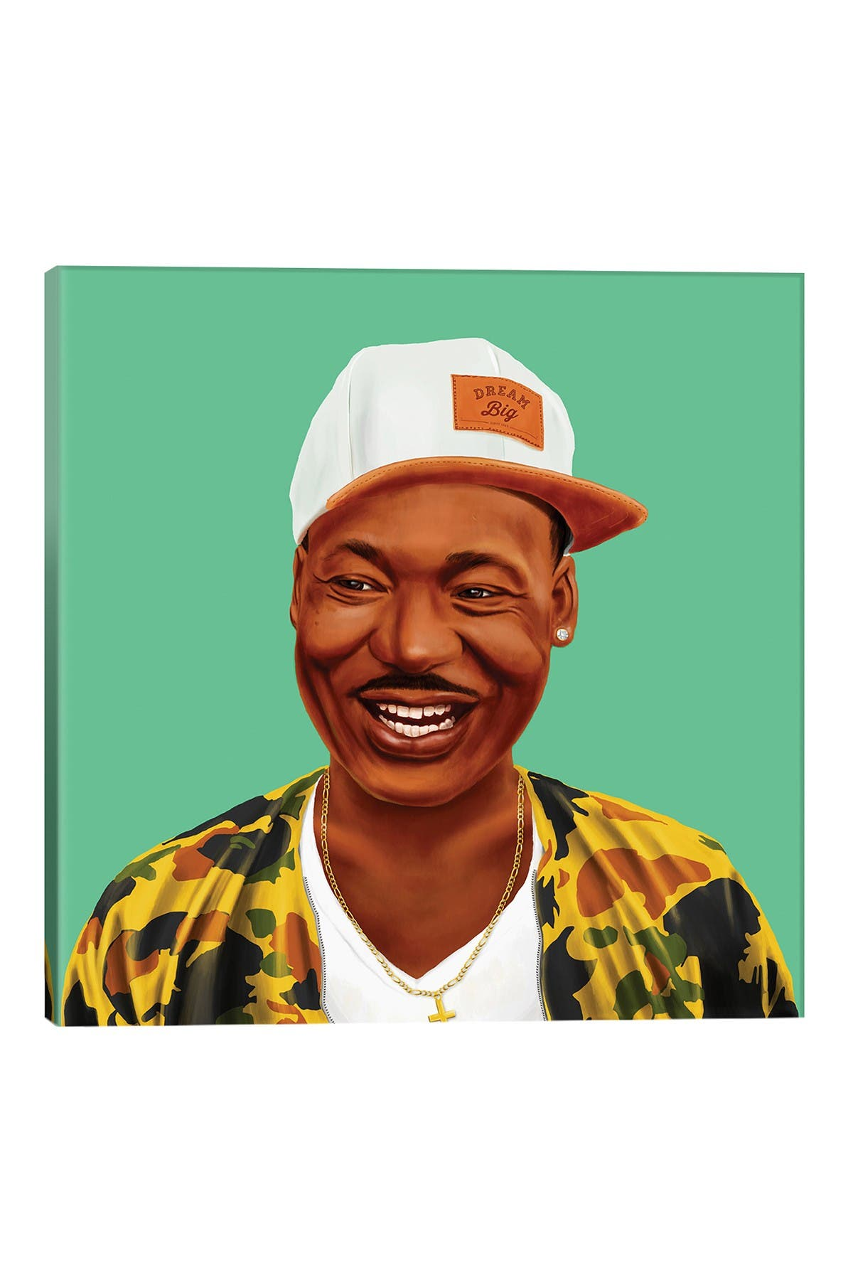 Image of iCanvas Martin Luther King by Amit Shimoni