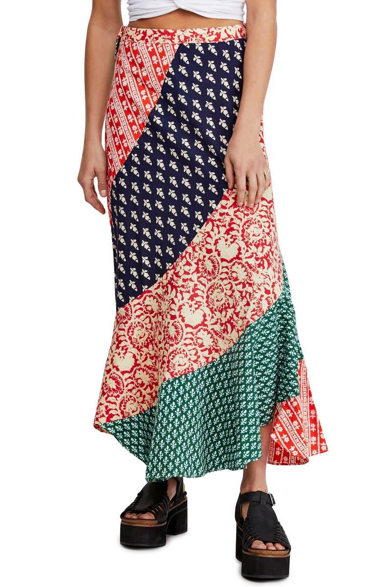 FREE PEOPLE Polska Maxi Skirt, Main, color, 009