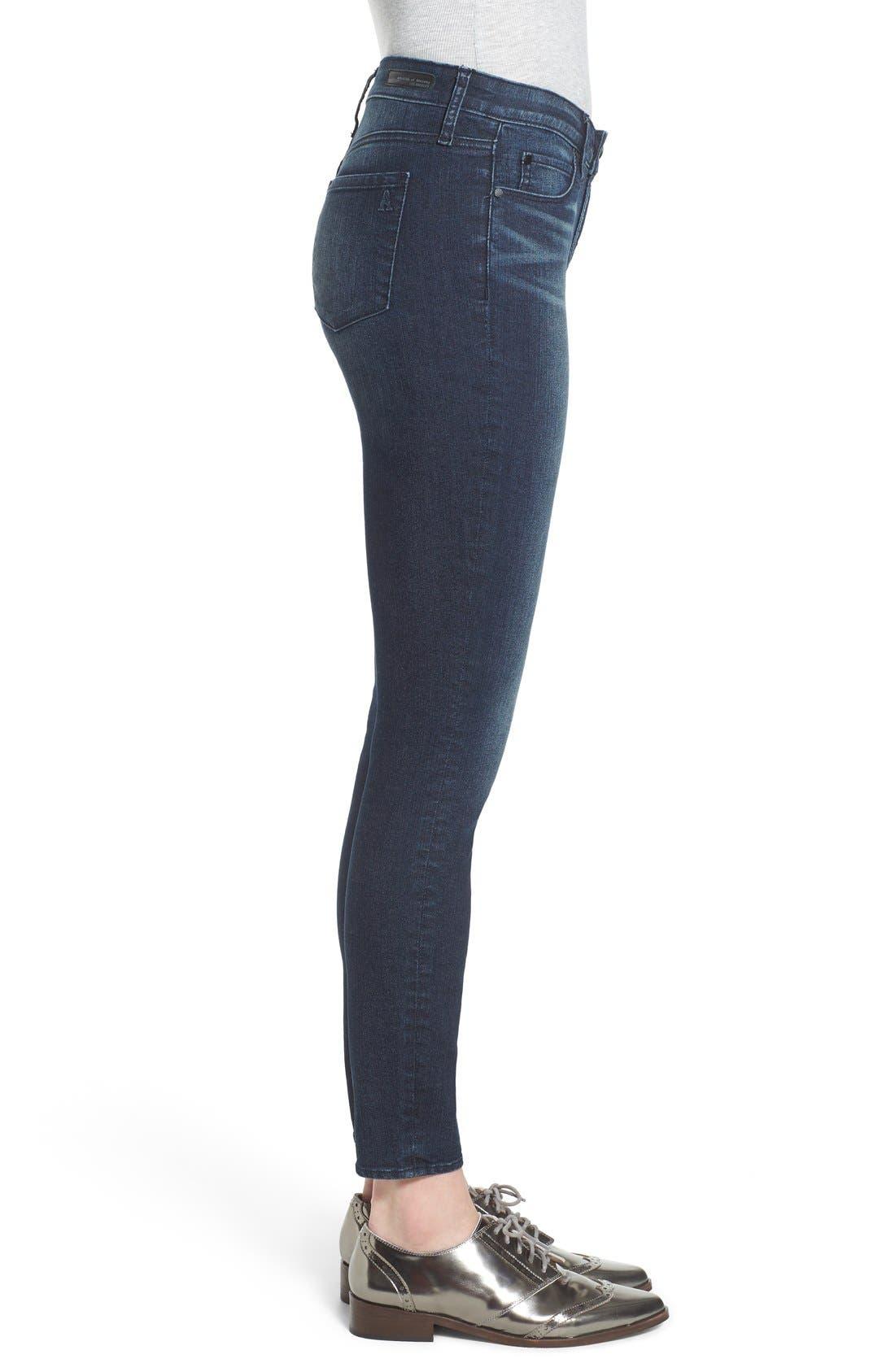 ,                             'Sarah' Skinny Jeans,                             Alternate thumbnail 2, color,                             415