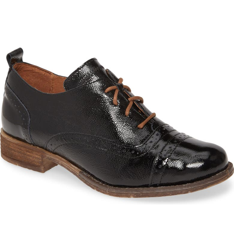JOSEF SEIBEL Sienna 73 Oxford, Main, color, BLACK PATENT LEATHER