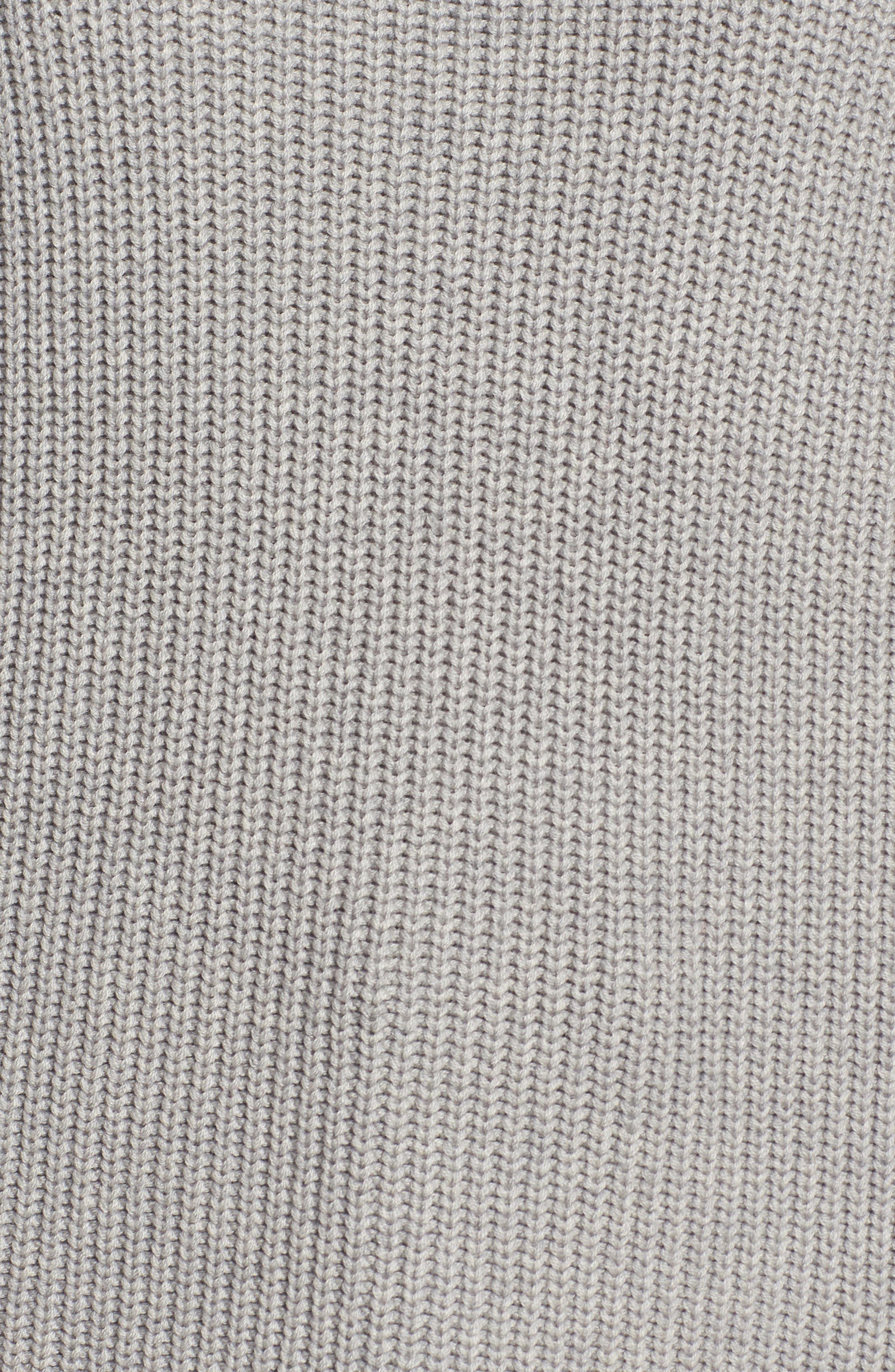 ,                             Asymmetrical Cold Shoulder Sweater,                             Alternate thumbnail 5, color,                             020