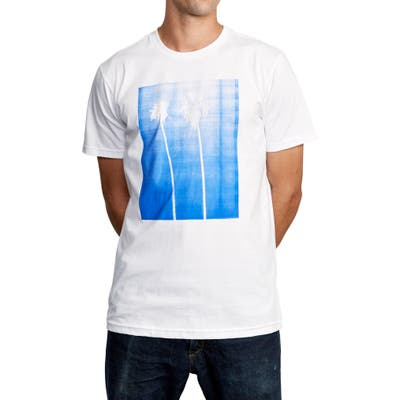 Rvca Copycat Graphic T-Shirt, White