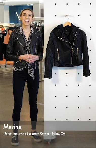 Meant to Be Moto Jacket with Removable Hood, sales video thumbnail